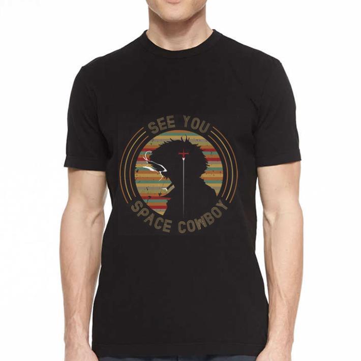 Cowboy Bebop See you space Cowboy shirt 2