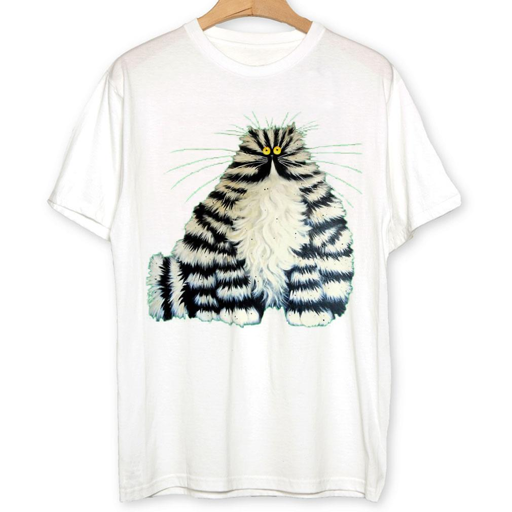 - Crazy fat cat shirt