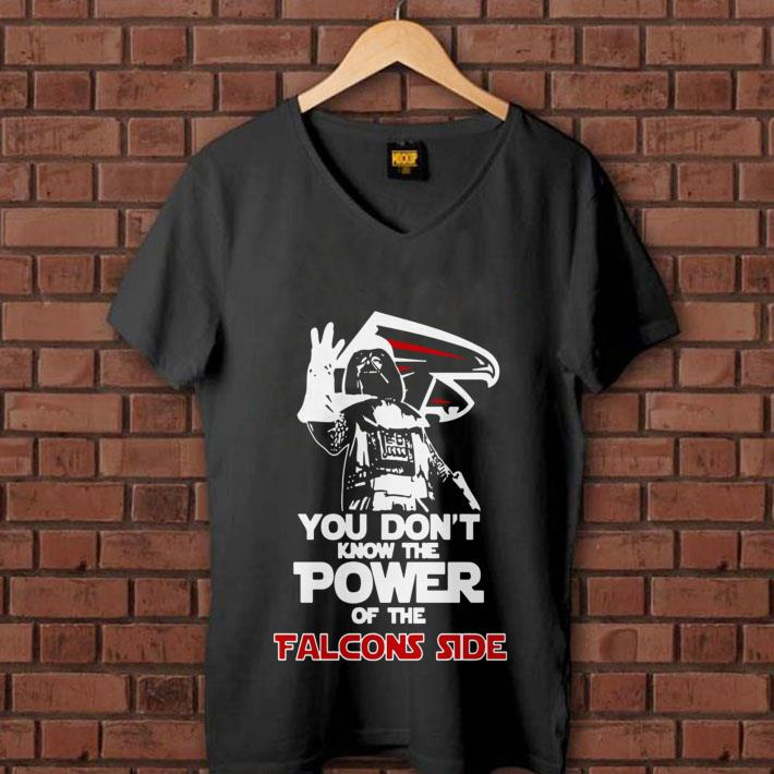 - Darth Vader You Don't Know The Power Of The Falcons Side shirt