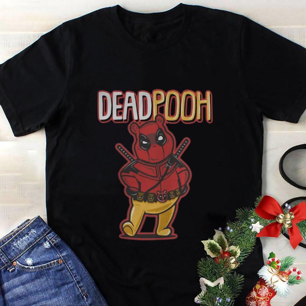 DeadPooh Deadpool and Pooh mashup shirt 1