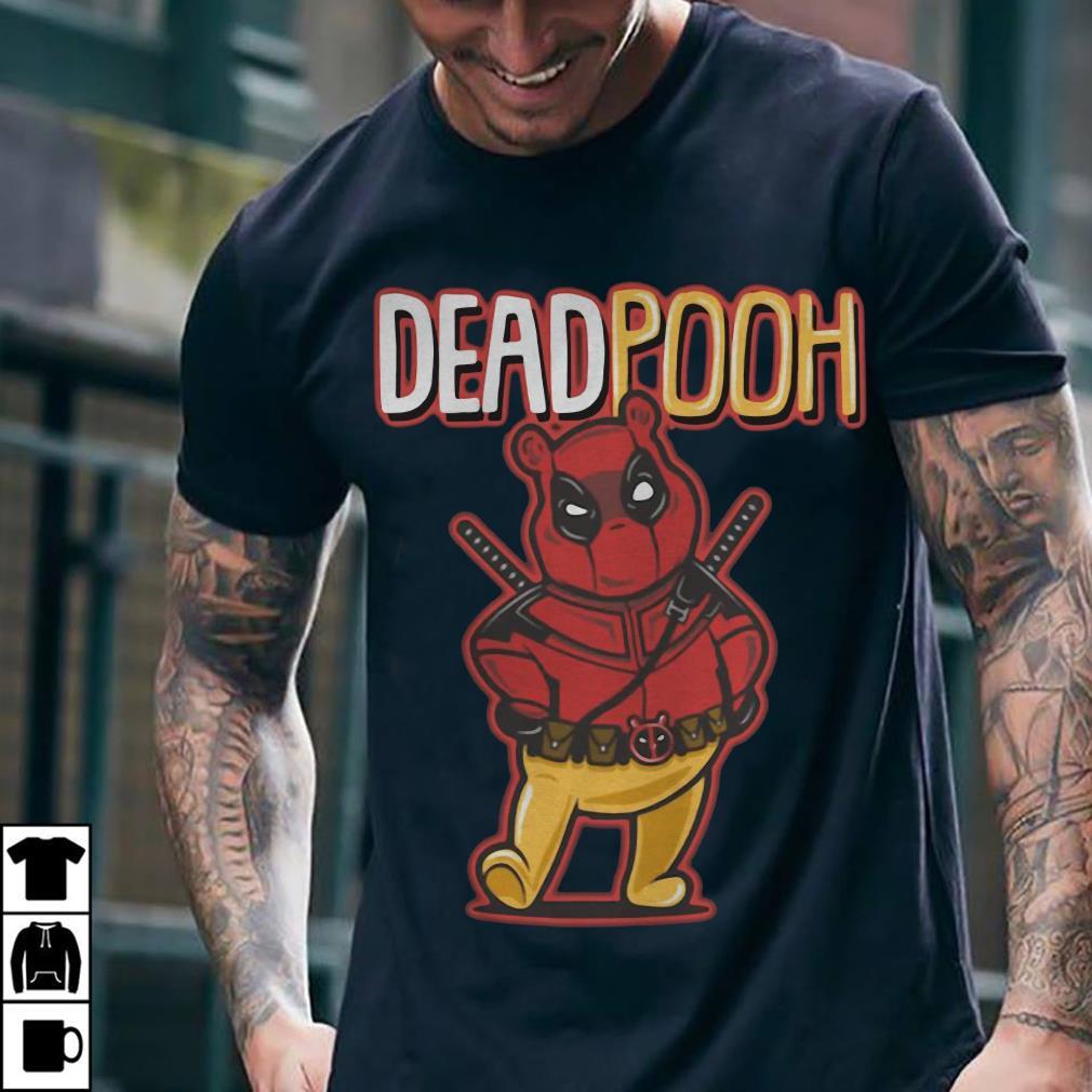 DeadPooh Deadpool and Pooh mashup shirt 2