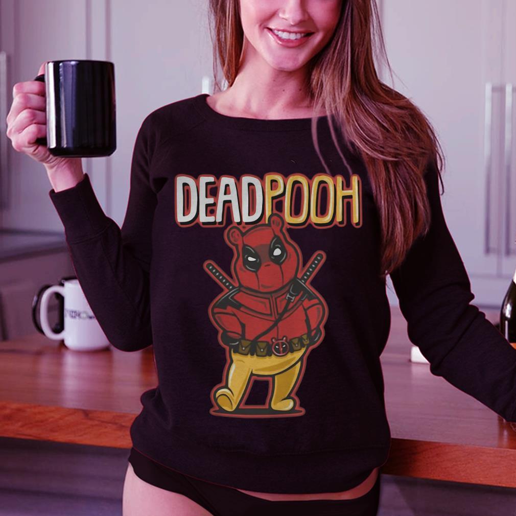 DeadPooh Deadpool and Pooh mashup shirt 3