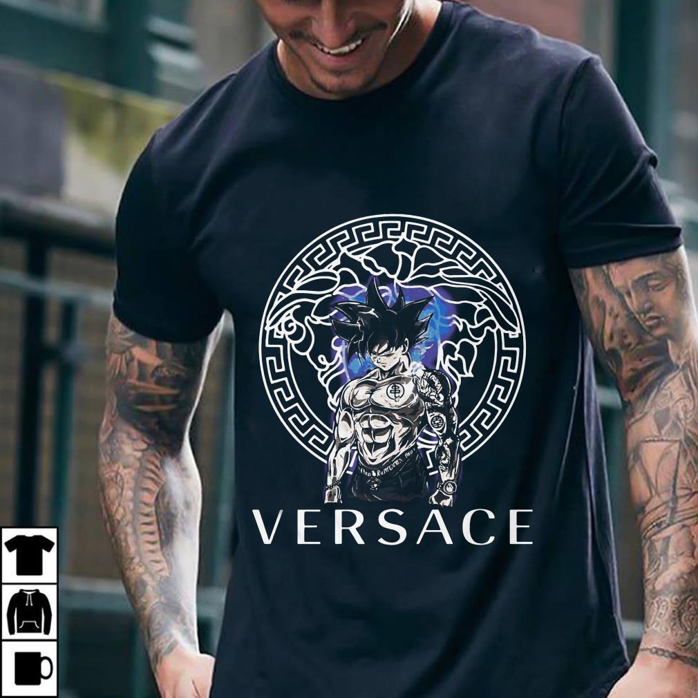 - Dragon Ball Super Goku Ultra instinct Versace shirt