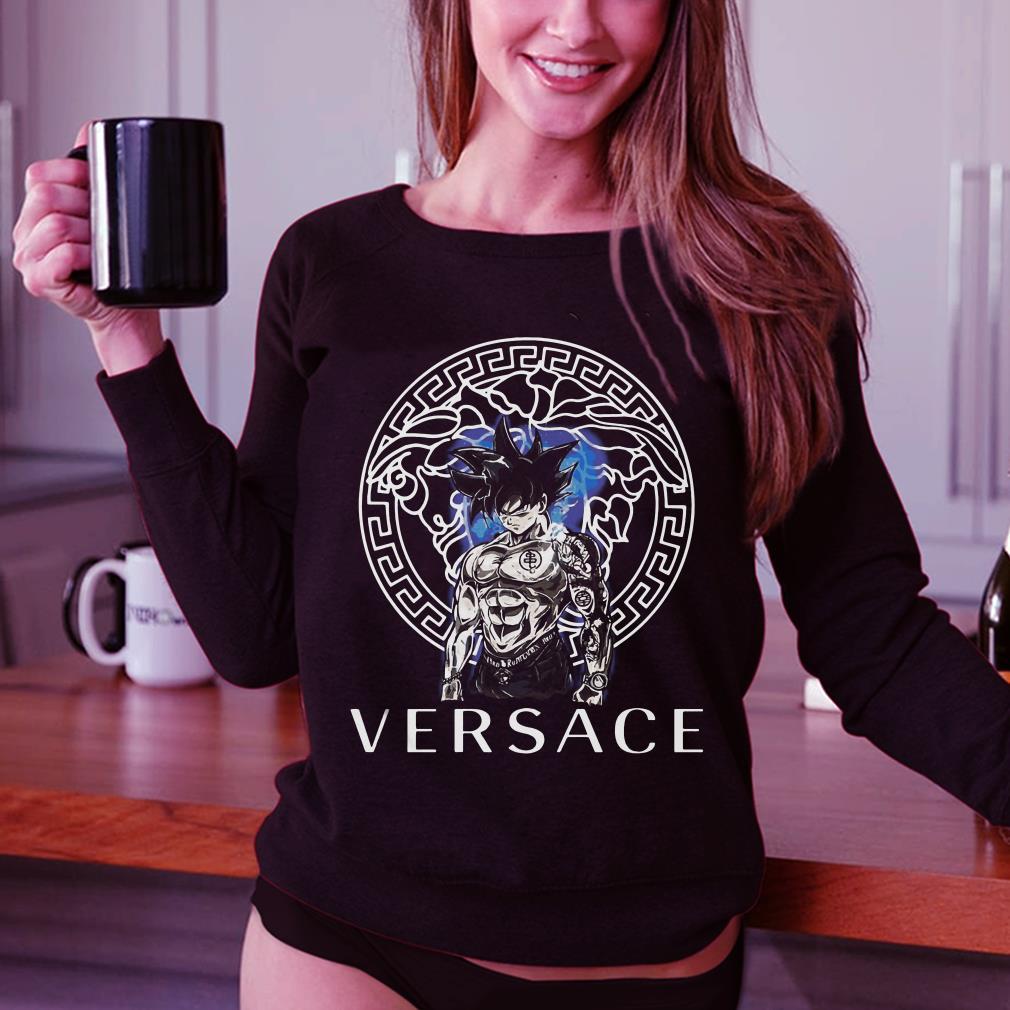 92d6e7d4 Dragon Ball Super Goku Ultra instinct Versace shirt, hoodie, sweater