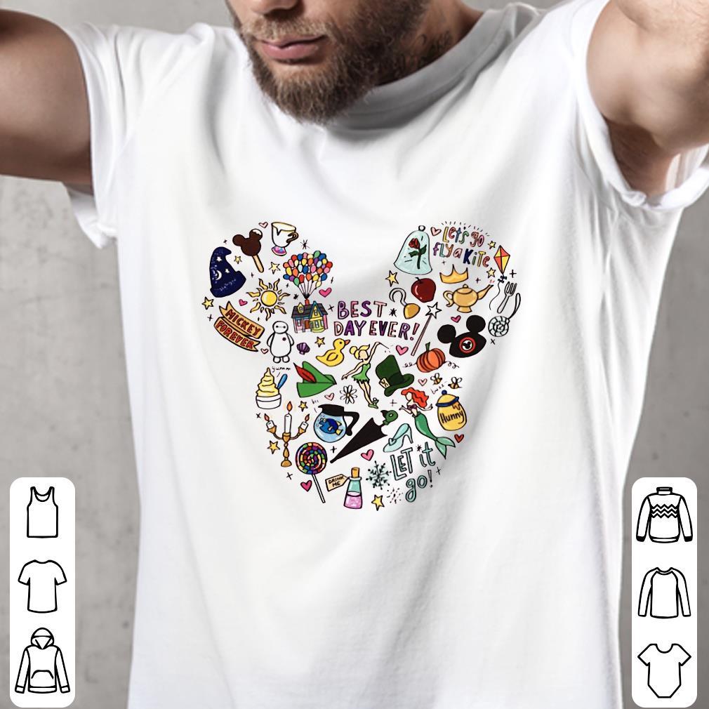 Mickey Mouse face symbol cartoons shirt 2