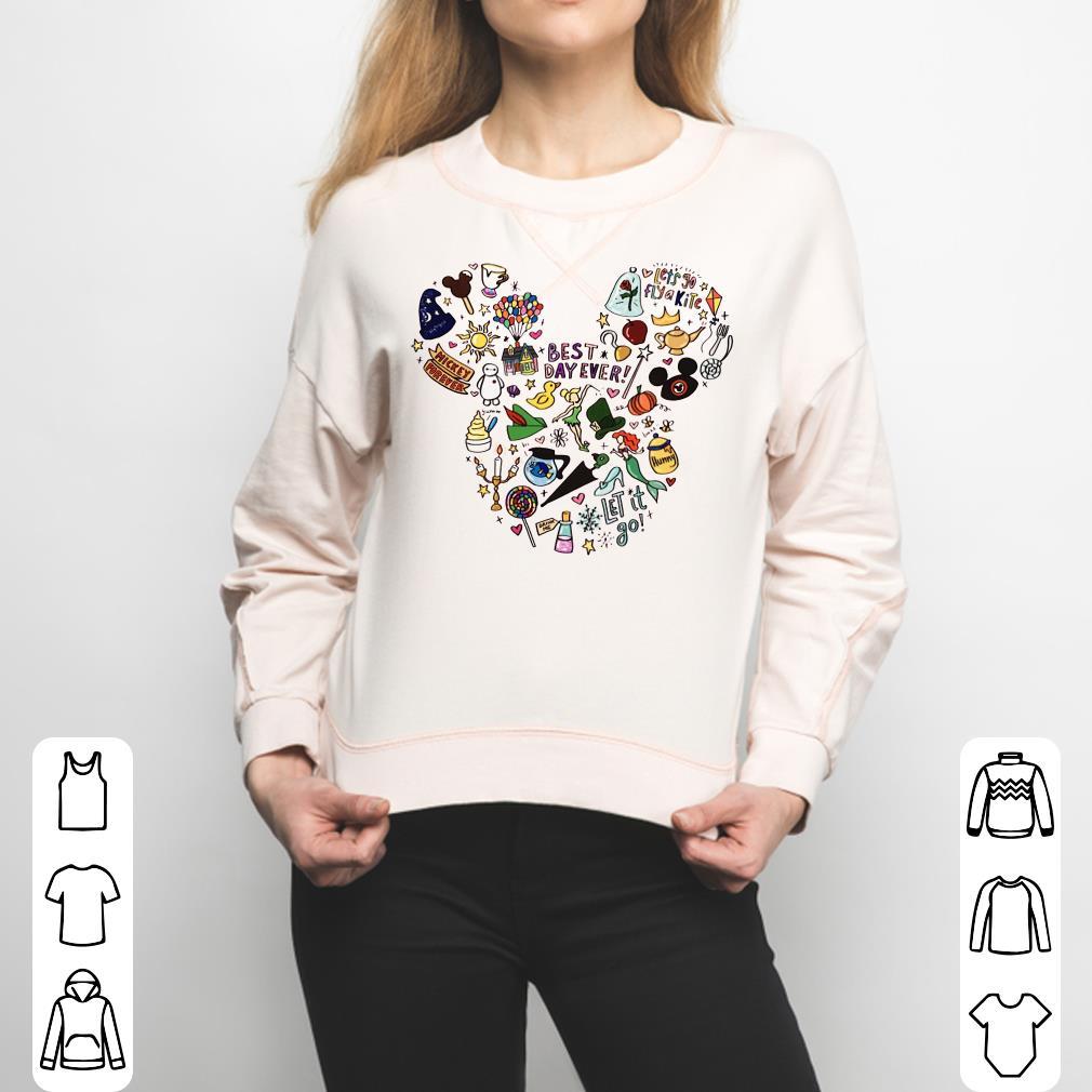 Mickey Mouse face symbol cartoons shirt 3