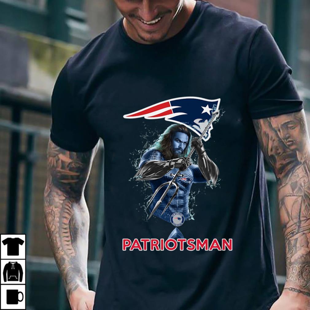 - New England Patriots Aquaman PatriotsMan shirt