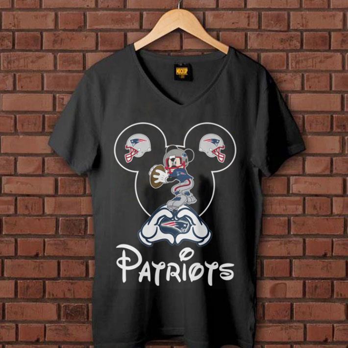 New England Patriots Mickey mouse shirt 1