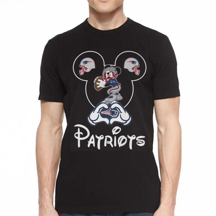 New England Patriots Mickey mouse shirt 2