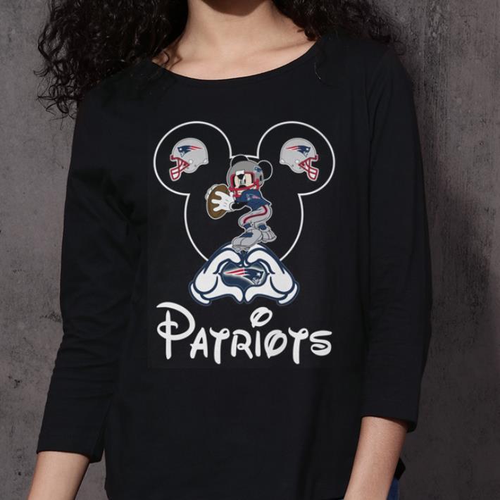 New England Patriots Mickey mouse shirt 3