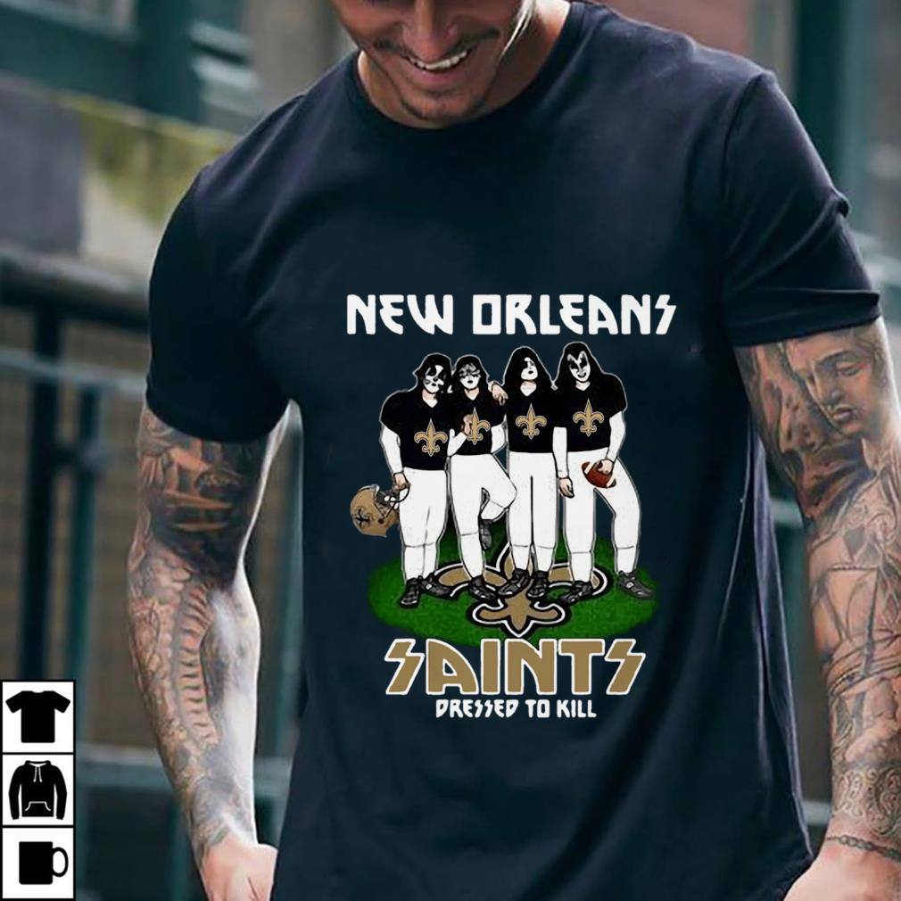New Orleans Saints dressed to kill shirt 2