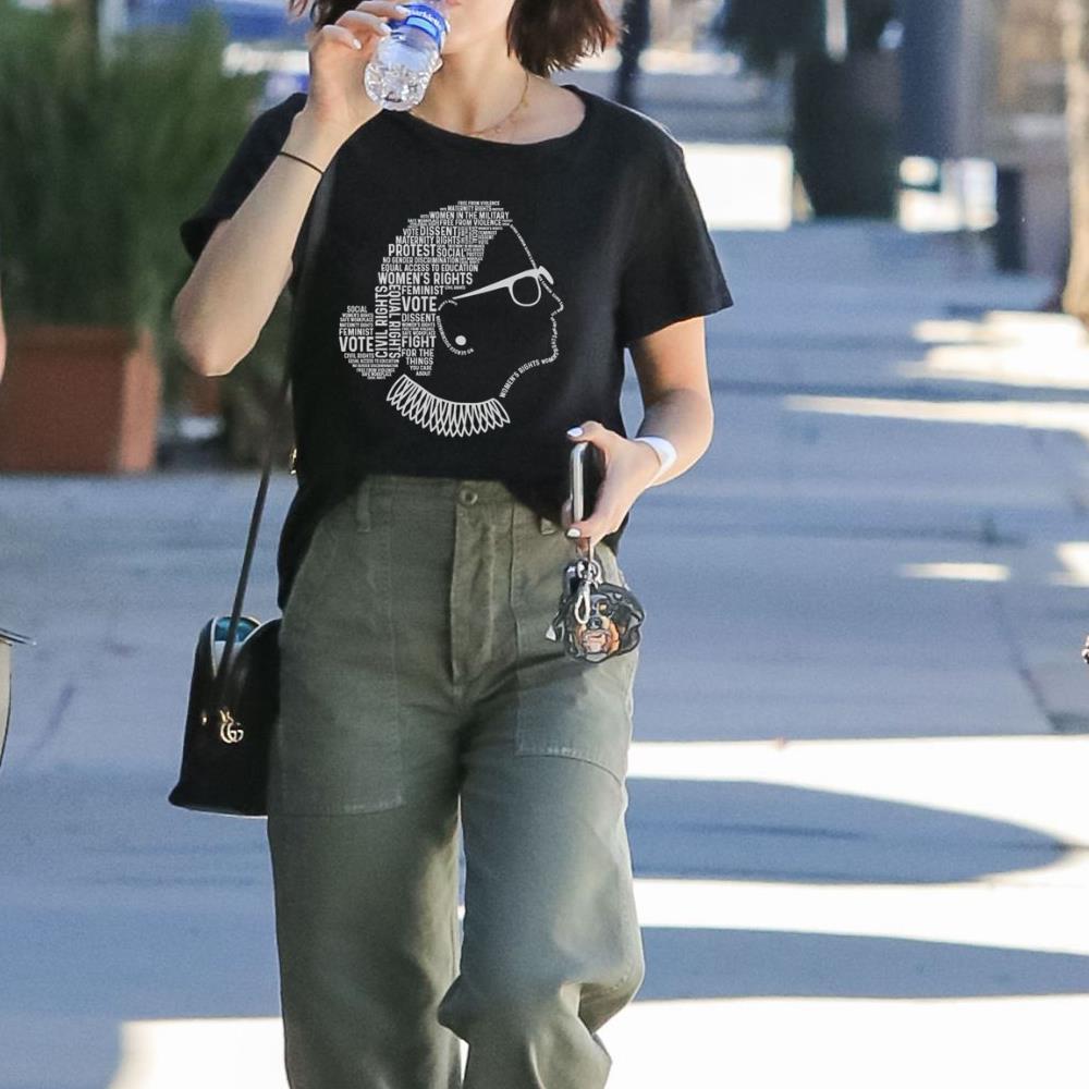 Notorious RBG Ruth Bader Ginsburg Quotes Feminist shirt 3