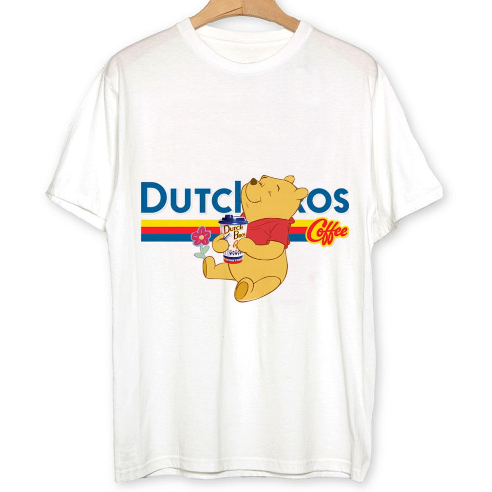 Pooh drink Dutch Bros coffee shirt 1