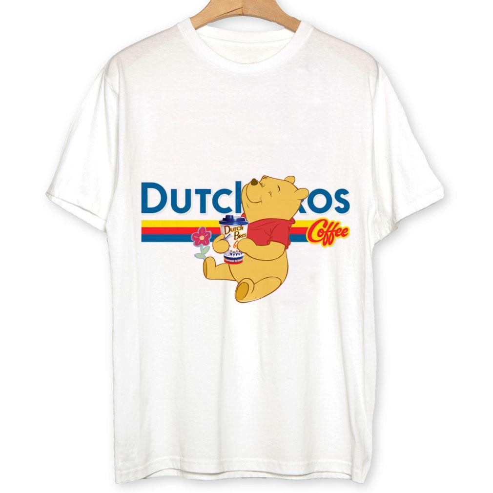 Pooh drink Dutch Bros coffee shirt 1