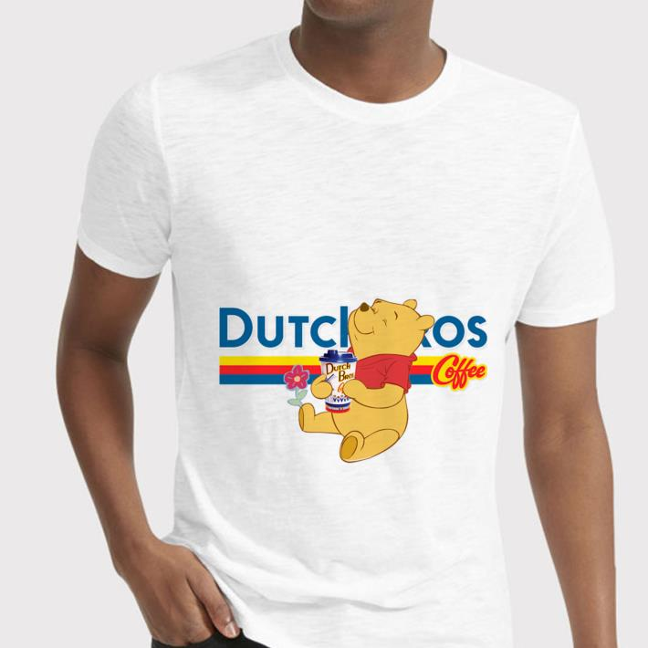 Pooh drink Dutch Bros coffee shirt 2