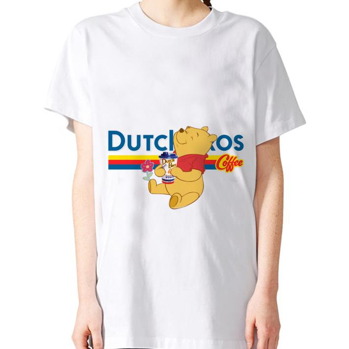 Pooh drink Dutch Bros coffee shirt 3