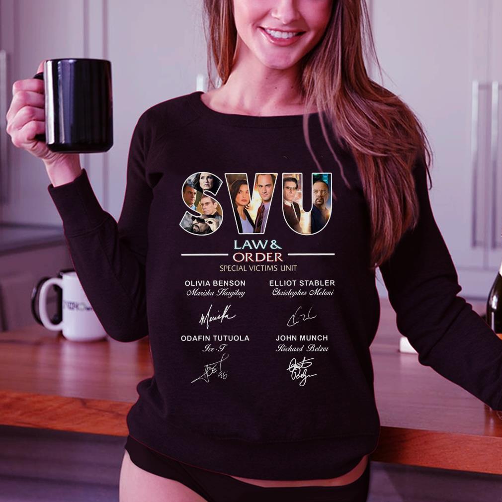 SVU Law & Rrder special victims unit signature shirt 3