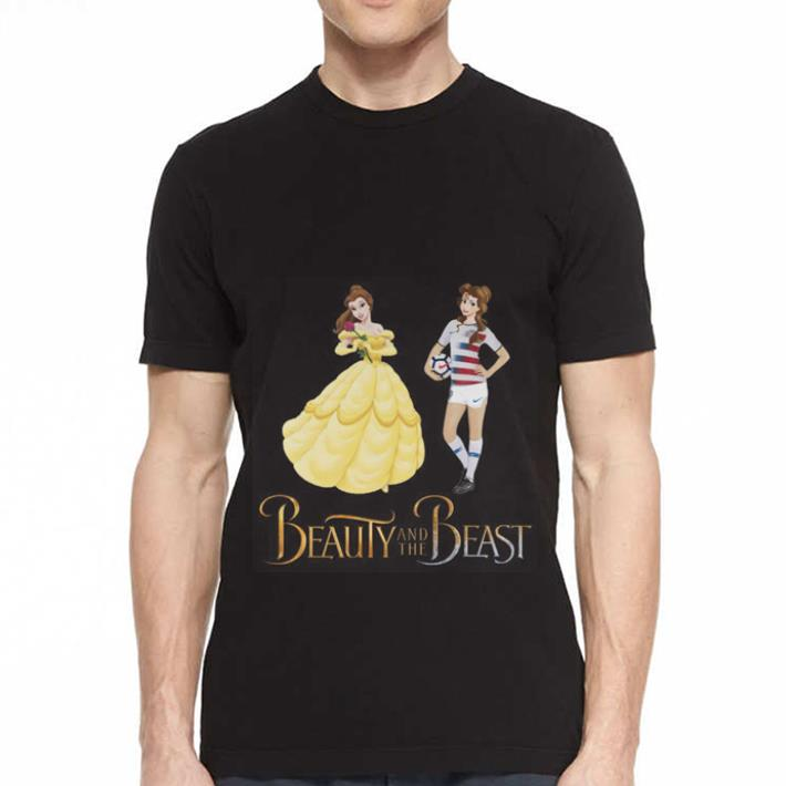 - Soccer Beauty and the beast shirt