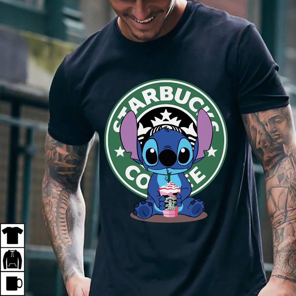 Stitch and Starbucks Coffee shirt 2