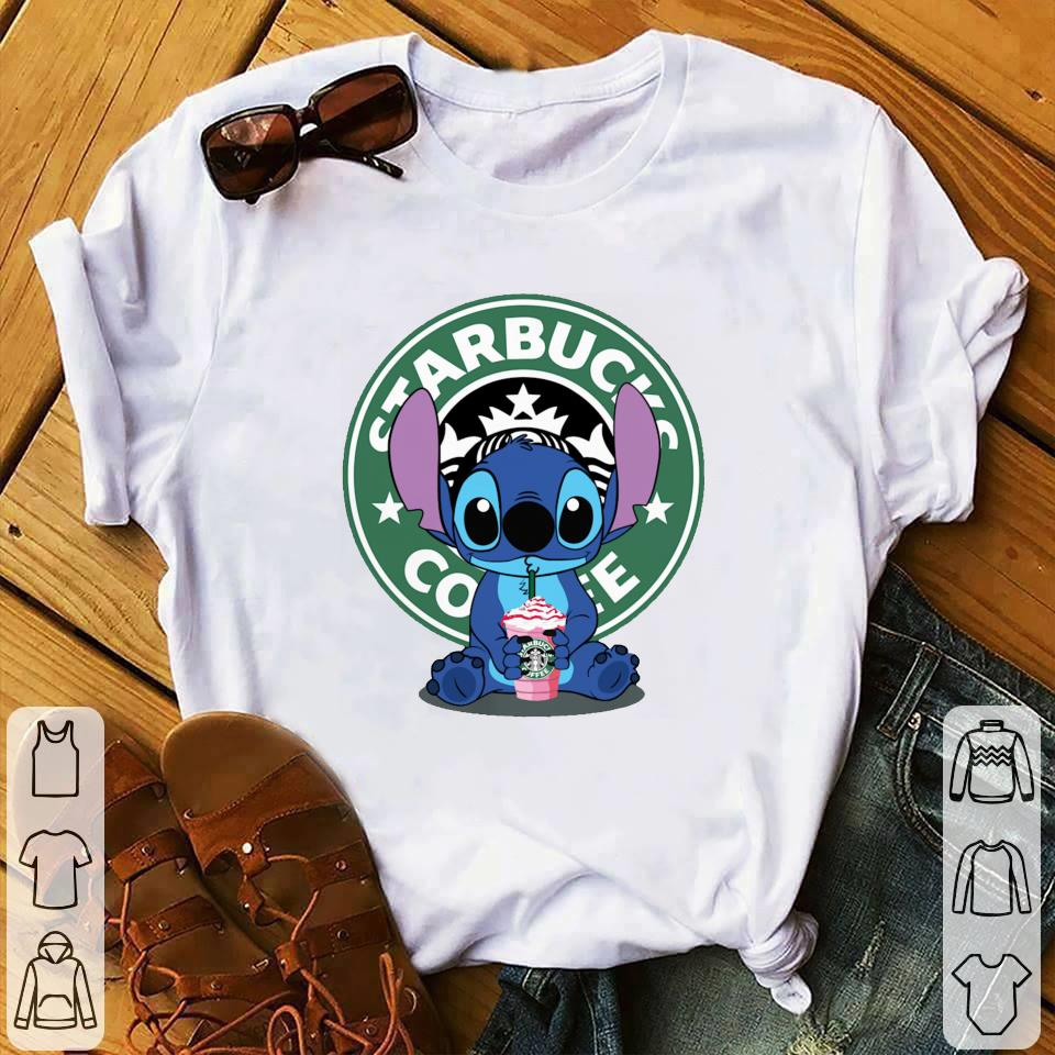 Stitch drink Starbucks Coffee shirt 1