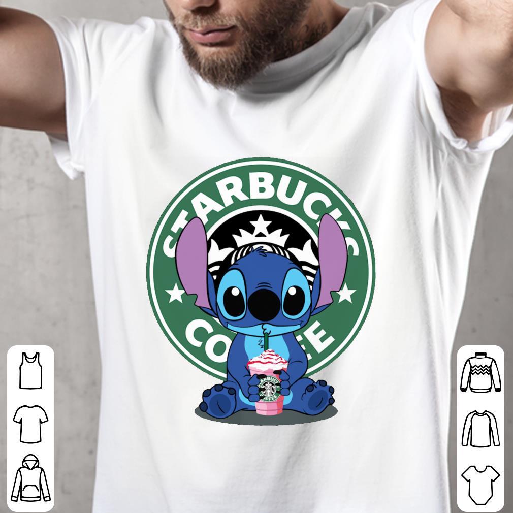 Stitch drink Starbucks Coffee shirt 2