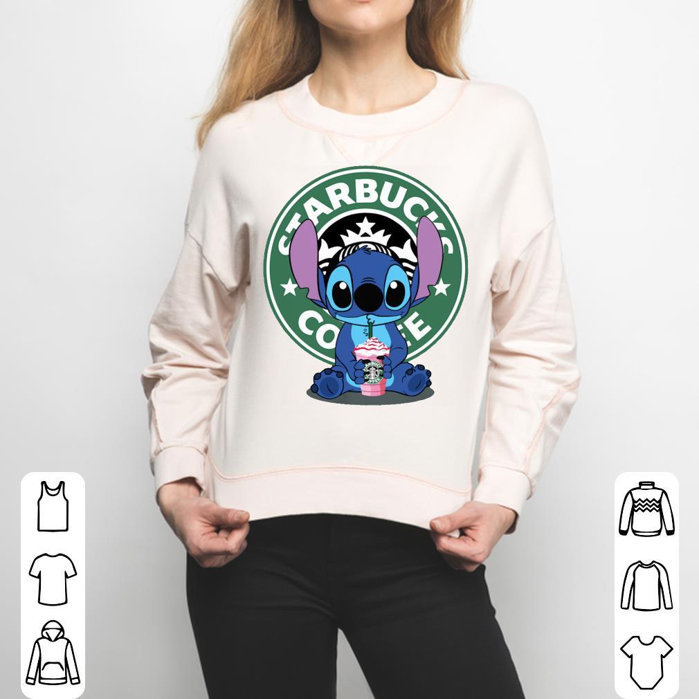 Stitch drink Starbucks Coffee shirt 3