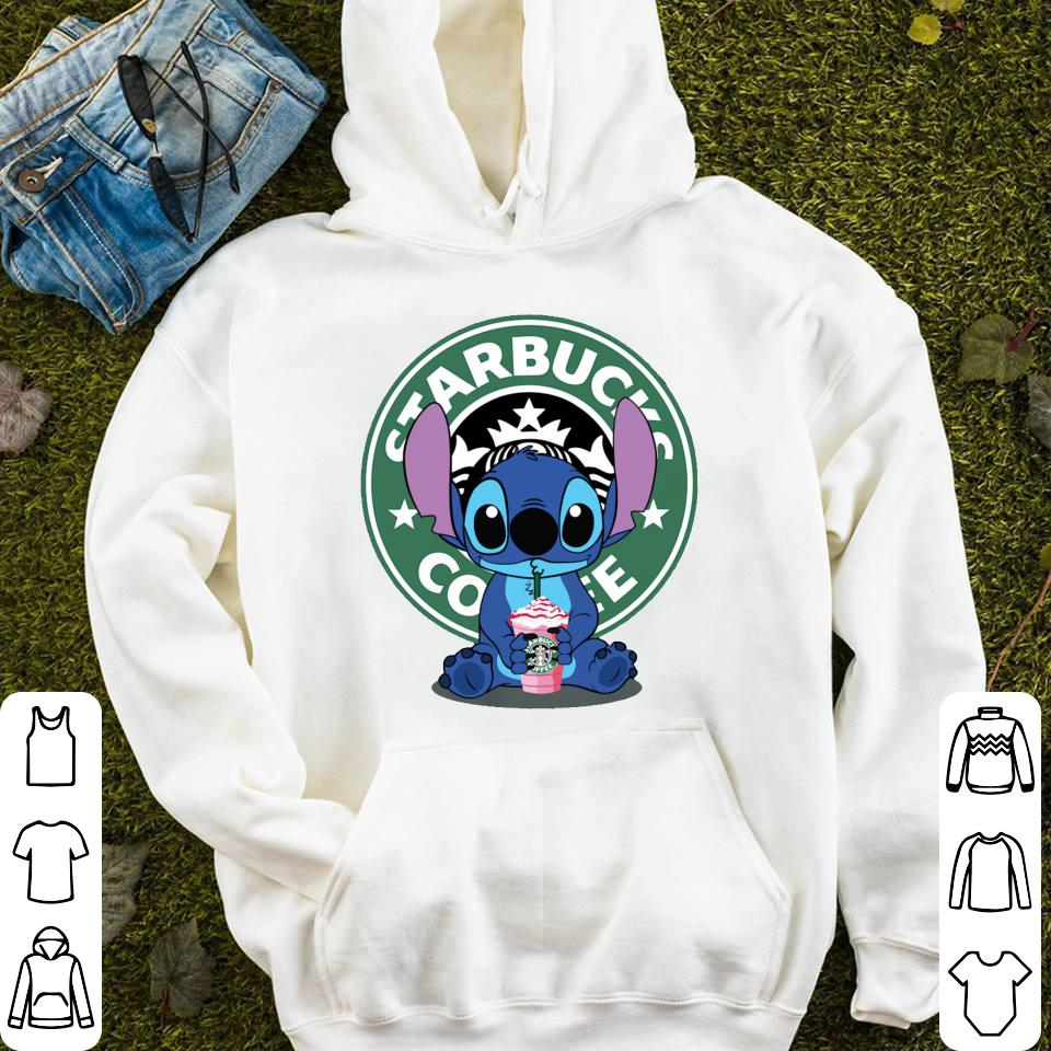 4bf5a8c7516a8e Stitch drink Starbucks Coffee shirt, hoodie, sweater