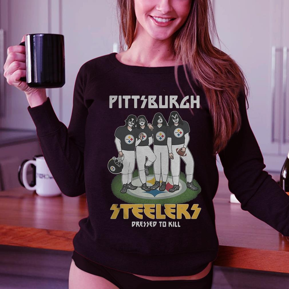 Teams Pittsburgh Steelers dressed to kill shirt 3