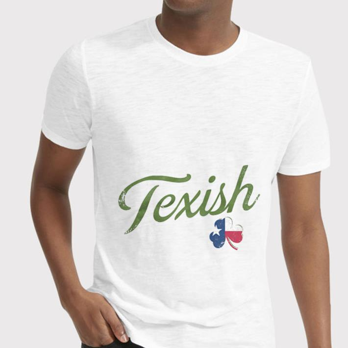 - Texish Clover St Patricks Day shirt