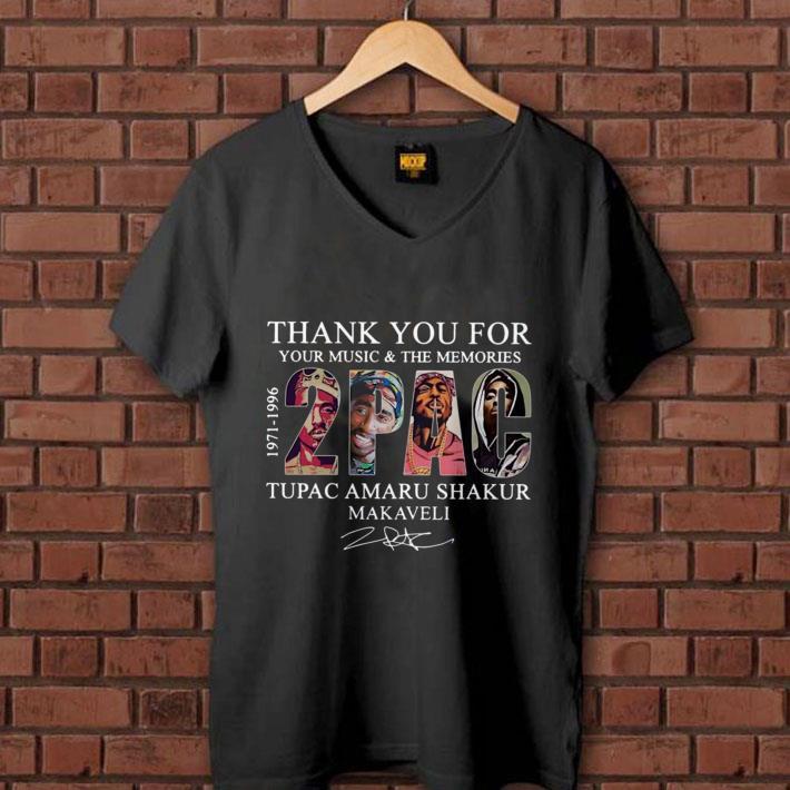 Thank you for your music and the memories Tupac Amaru Shakur Makaveli shirt 1