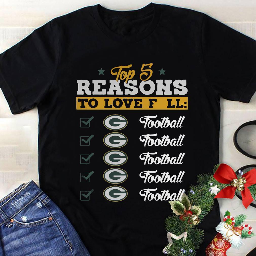 - Top 5 reasons to love falls Packers football team shirt