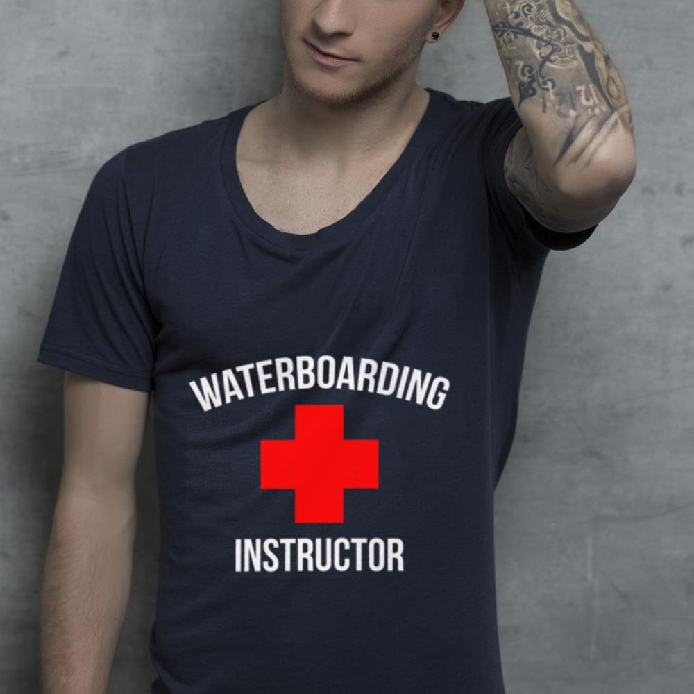 Waterboarding instructor shirt 2