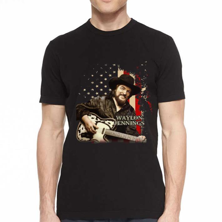 - Waylon Jennings america shirt