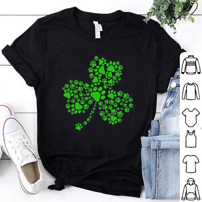 Irish Dog Paw St. Patrick's Day shirt 1
