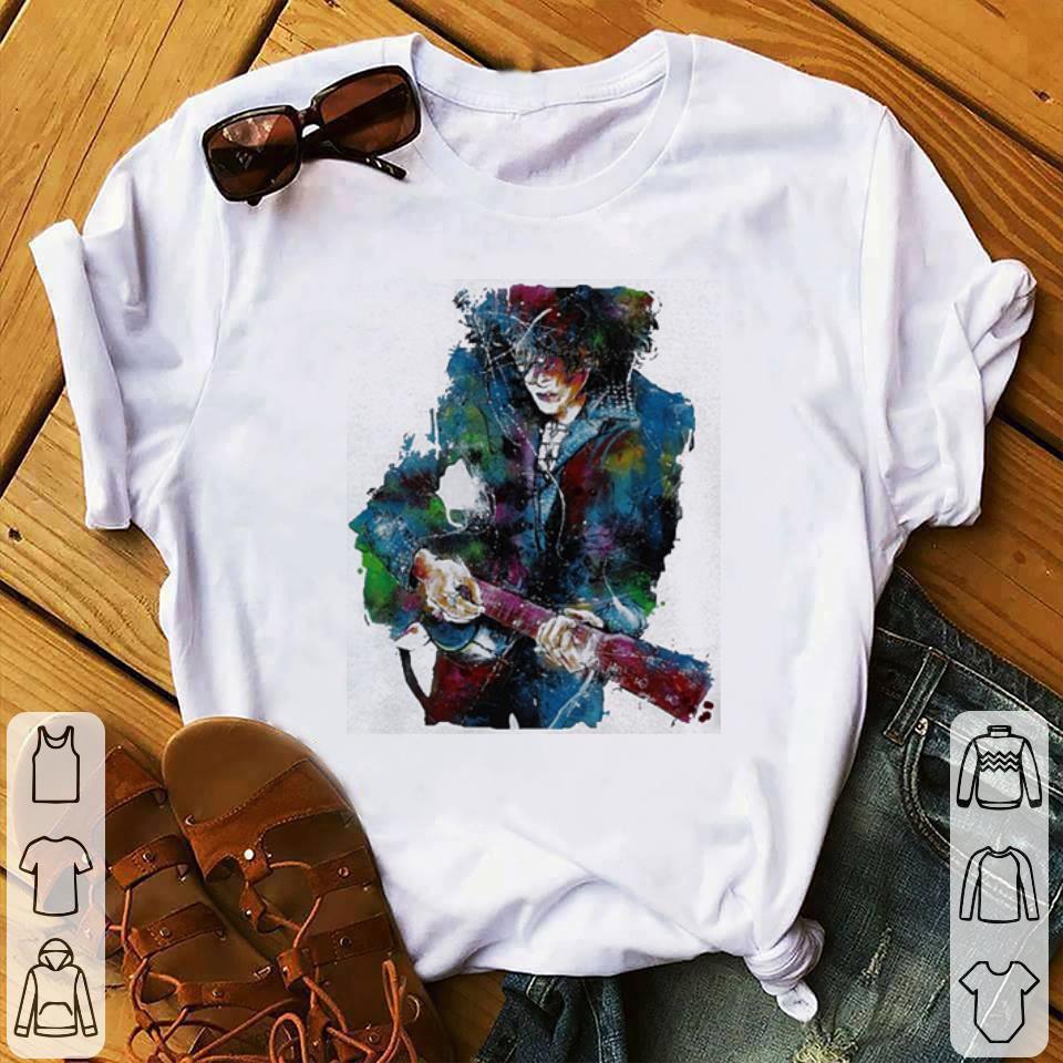 Laura Pergolizzi mix color shirt 1