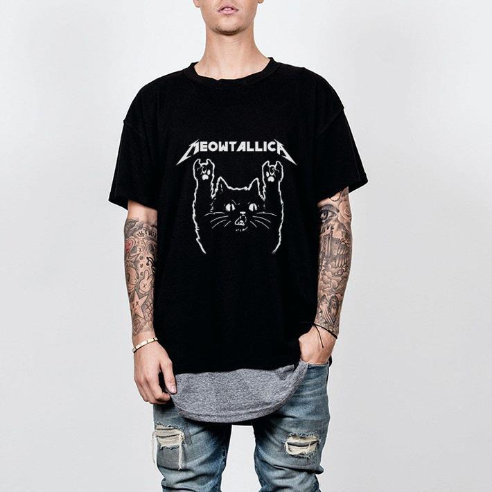 - Meowtallica shirt