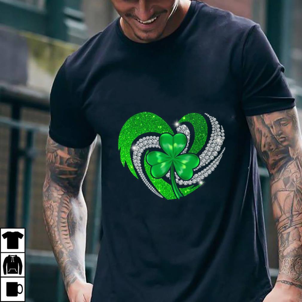 St Patricks Day Shamrock Irish Heart shirt 2