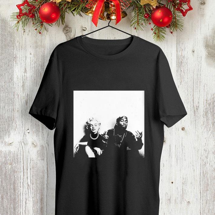 2Pac Tupac Shakur and Marilyn Monroe shirt