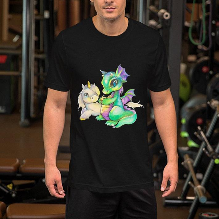Baby Unicorn and dragon shirt 2