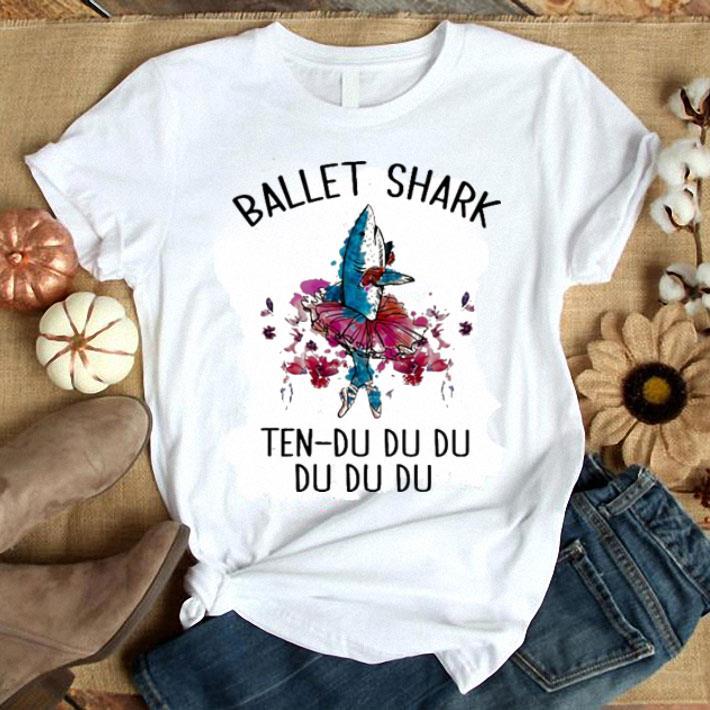 Ballet shark ten-du du du du du du shirt 1