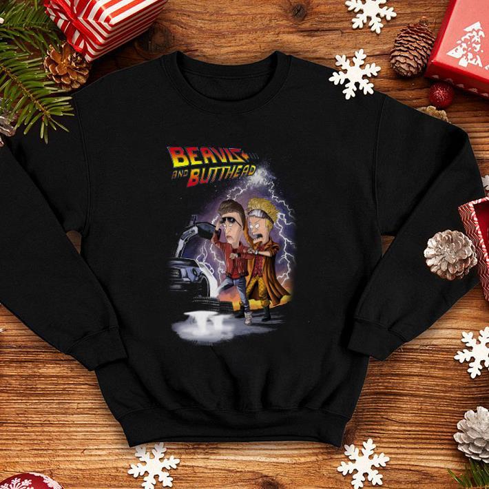 Beavis and butthead car shirt