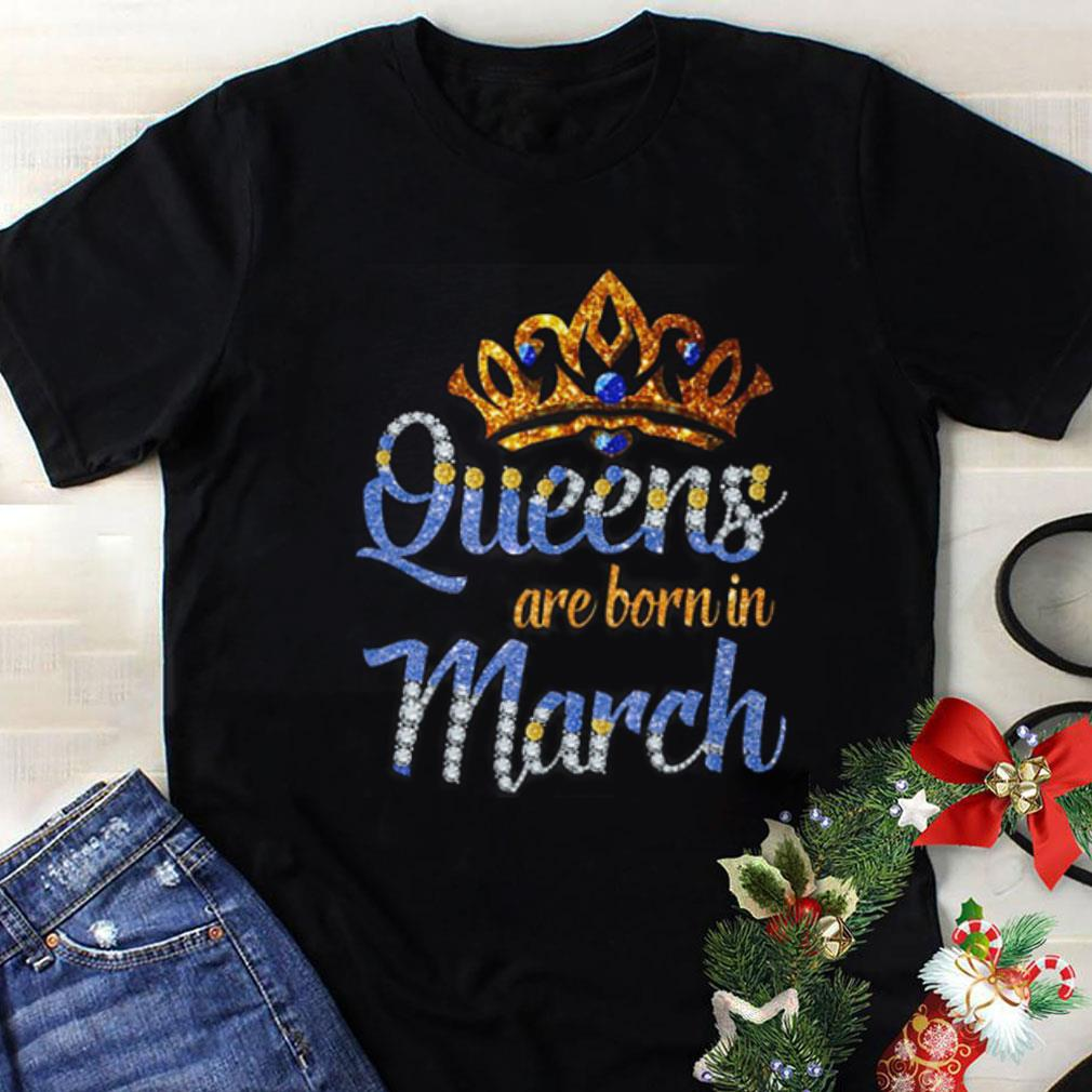 Queen are born in march shirt 1