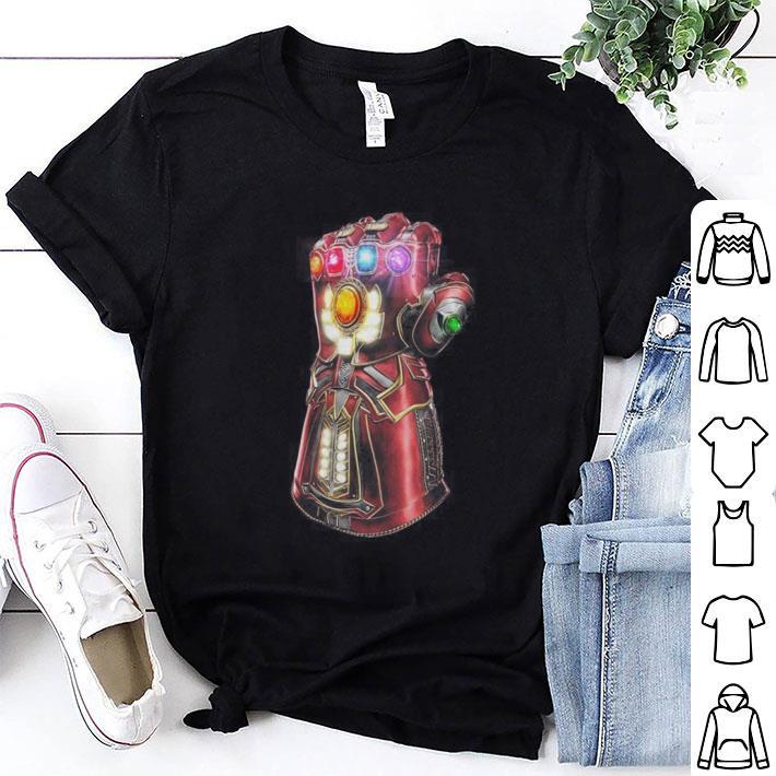 Avengers Endgame Iron Man Infinity Gauntlet shirt 1