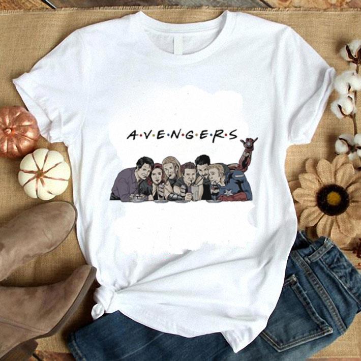 Avengers Endgame drink water Captain America Thor Iron man shirt 1