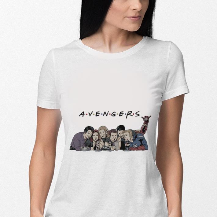 Avengers Endgame drink water Captain America Thor Iron man shirt 3