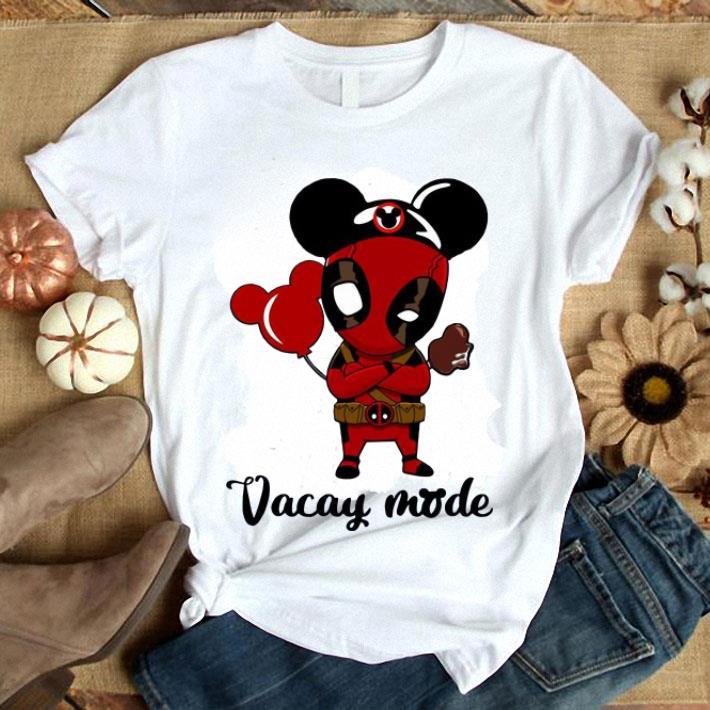 - Deadpool Vacay mode shirt