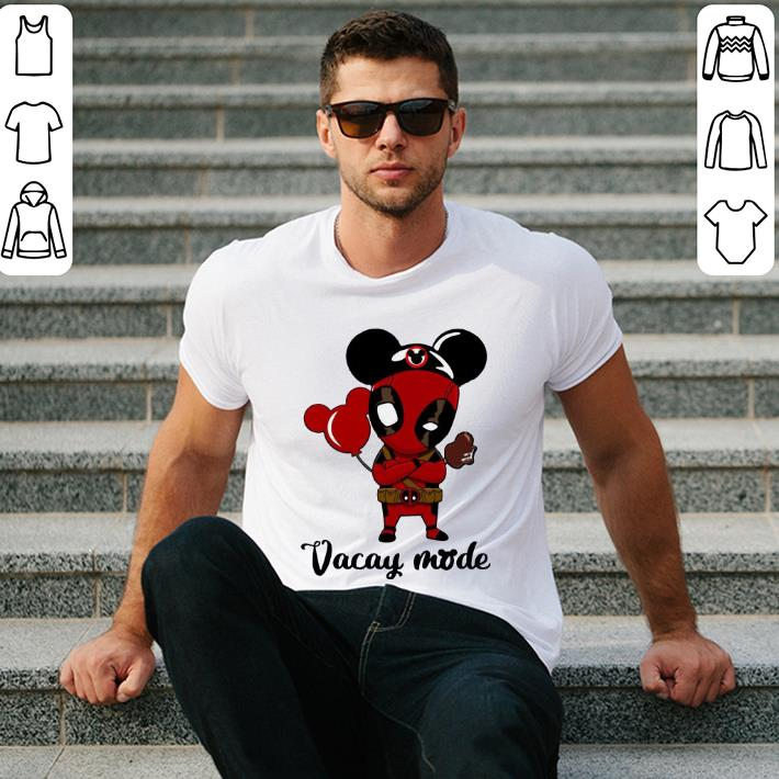 Deadpool Vacay mode shirt 2