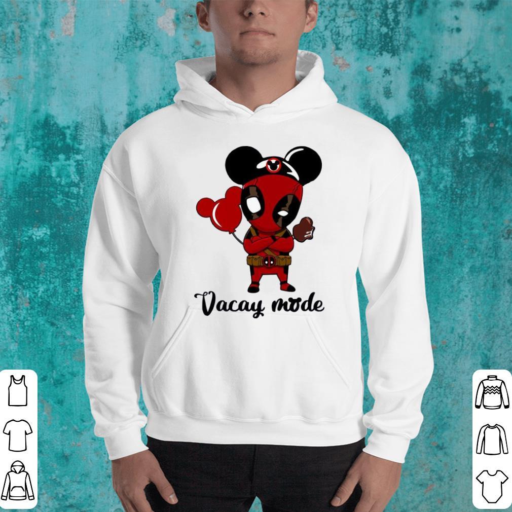 Deadpool Vacay mode shirt