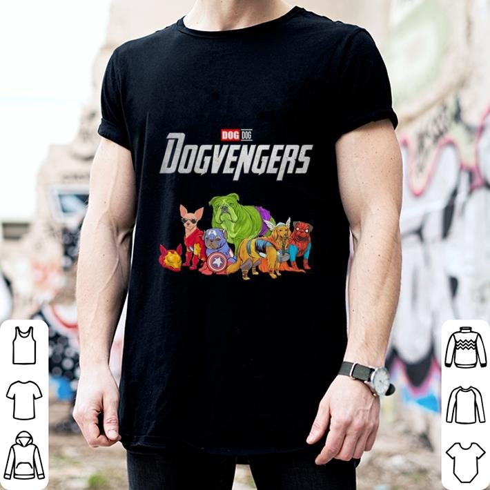 - Dog Dogvengers Marvel Avengers Endgame shirt