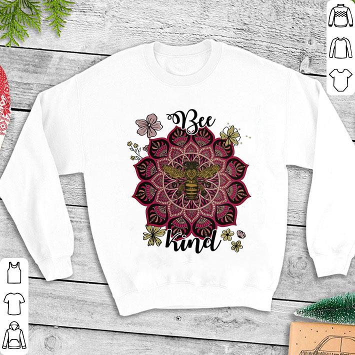 Flowers Bee kind shirt 1